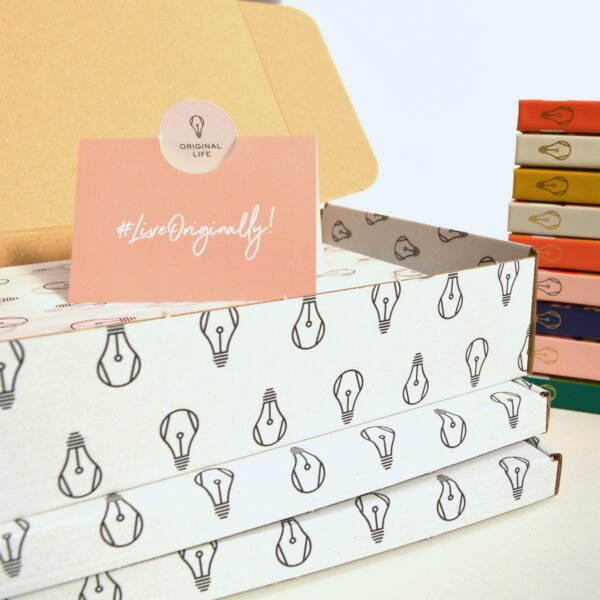 Original Life Stationery Beautiful Sustainable Paper Packaging