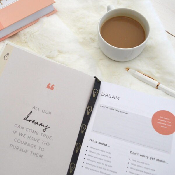Original Life Personalised Planner Goals Dreams Productivity Inner Sustainable Paper