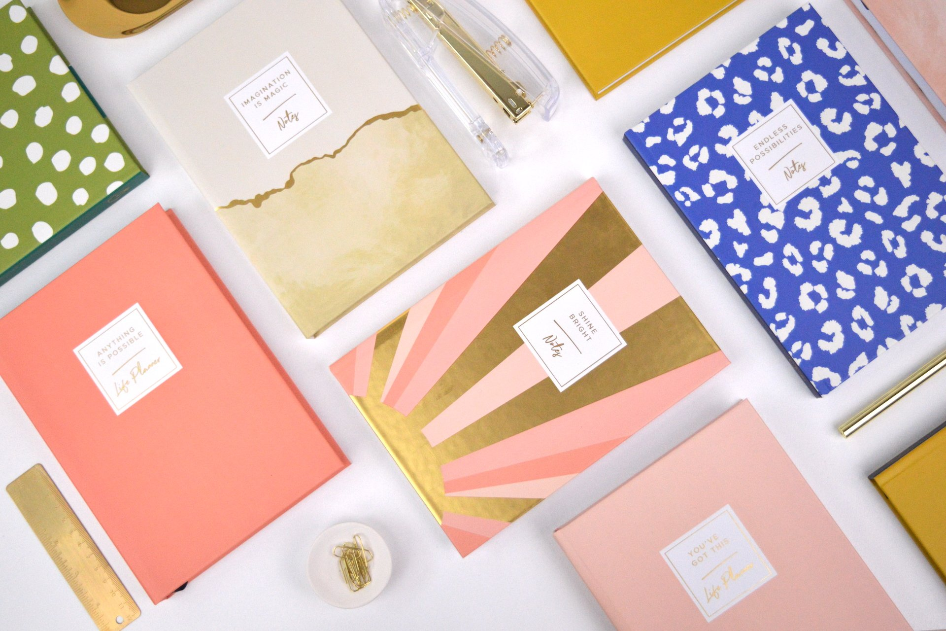 Original Life personalised stationery notebooks planners sustainable