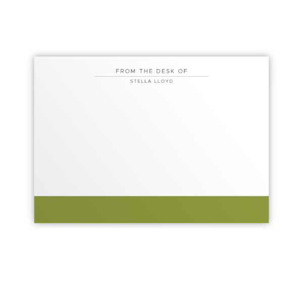 Original Life Personalised Notecard Duet Meadow Sustainable Eco Friendly