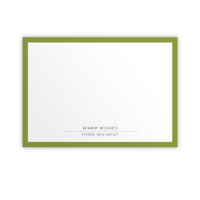 Original Life Personalised Notecard Solo Meadow Sustainable Eco Friendly